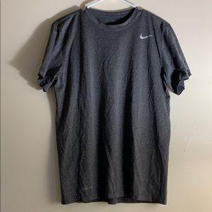 Nike Gray Dri-Fit Workout Shirt Men's M